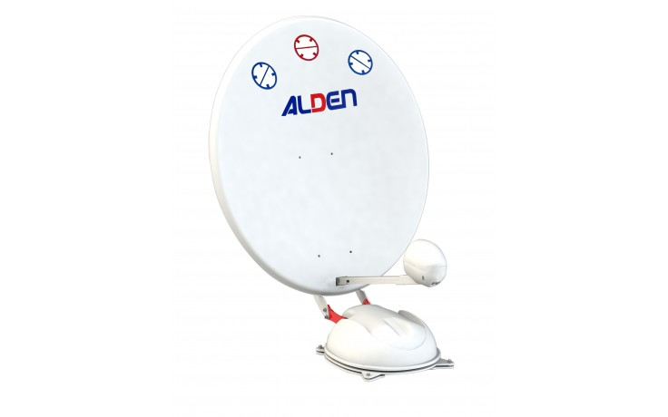 Alden AS4 85cm Very Fast Deploy Automatic Satellite Dish For Travelers