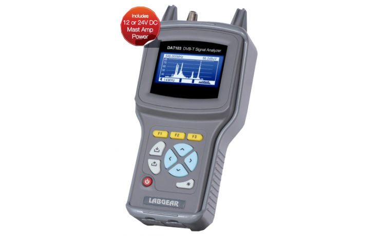 LABGEAR  DAT103 Digital & Analogue Television Analyser