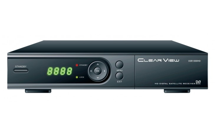 ClearView DSR1000HD MPEG·4 DVB·S2  H.264/AVC full HD1080p