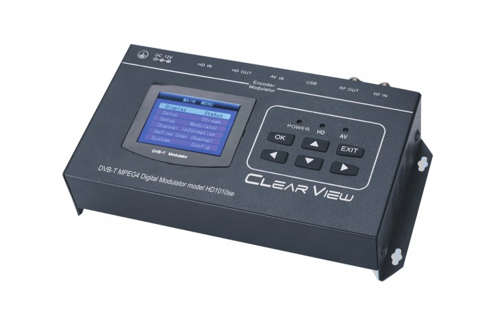 ClearView HD1010se HD MPEG4 Modulator with HDMI Loop Through and CVBS input