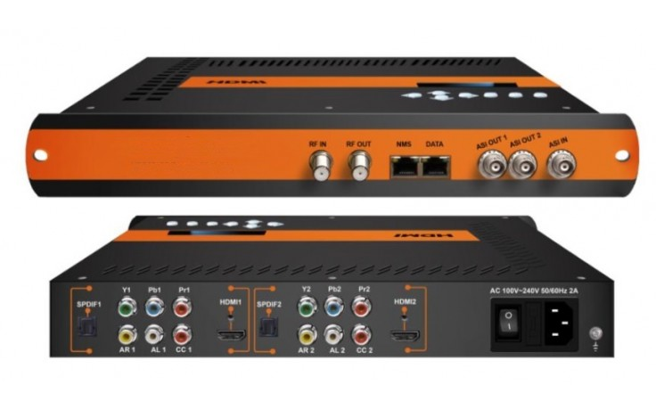 ClearView HD2102 Dual HD Mpeg2/4 Modulator HDMI/CVBS/YPbPr