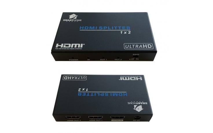 SmartHome 2 way 4K HDMI Splitter