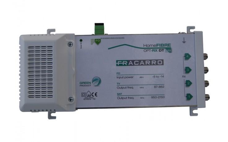 Fracarro Satellite & Terrestrial Fibre Receiver