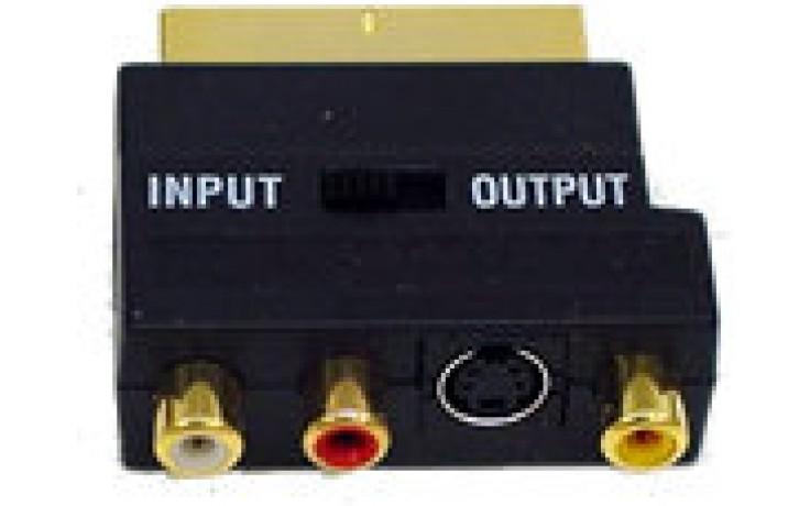 SatKing Adaptor - Scart to 3 RCA