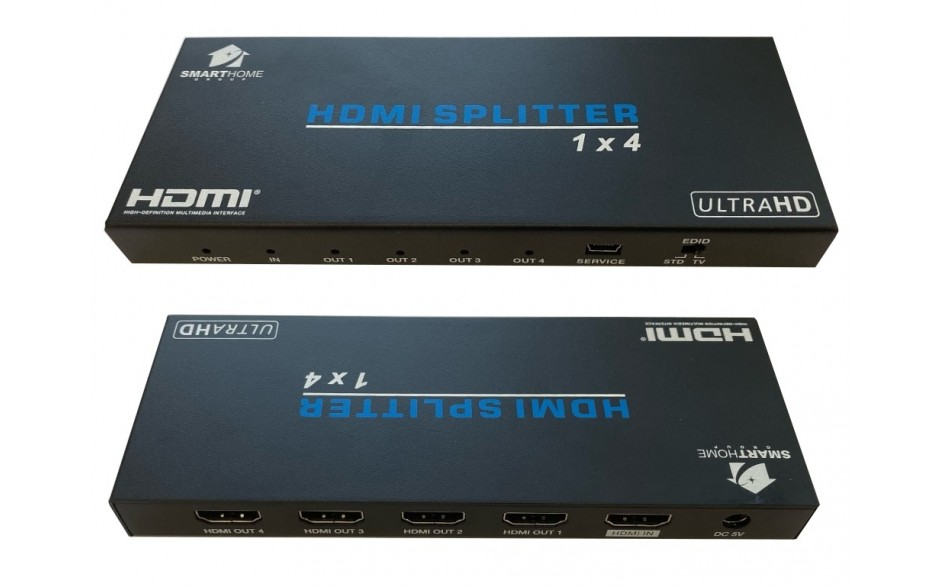 SmartHome 4 way 4K HDMI Splitter