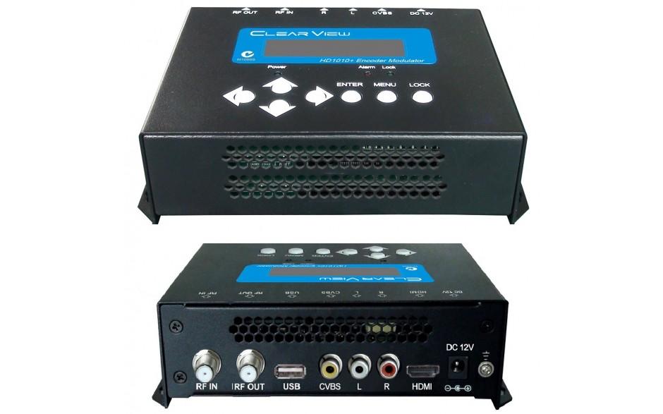 ClearView HD1010+ HD Digital Modulator MPEG4 HDMI & CVBS Inputs