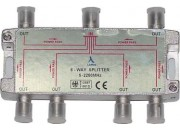 ClearView 6 Way F connector splitter 5-2250MHz