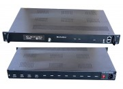HD4001 4 x HDMI Input, HD MPEG4 modulator with 4 x DVBT carriers out, and IP in and out.